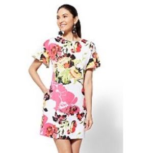 New York and Company small floral dress Never worn